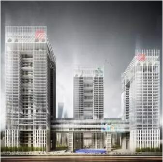 首个落户上海的国际金融组织总部,以中国绿色建筑三星,美国leed铂金